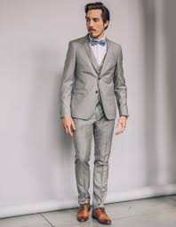 costume mariage homme gris costume homme 100 gris clair homme brice fr