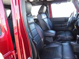 2012 used jeep wrangler unlimited 4x4 altitude leather