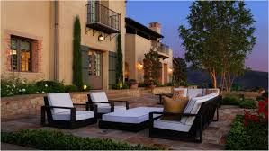 terrace garden design ideas courtyard water feature great accent