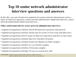 top 10 senior network administrator interview questions and answers 1 638 jpg cb u003d1426774711