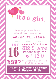 E Invitation Card Template Free Printable Baby Shower Invitation