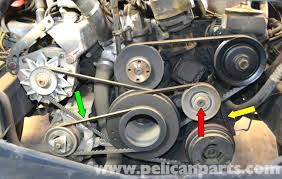 mercedes benz w126 a c belt replacement 1981 1991 s class