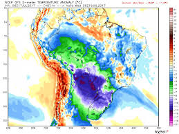 Climate Map Of South America by Amazonian Cold Snap Grips South America U2026veteran Meteorologist