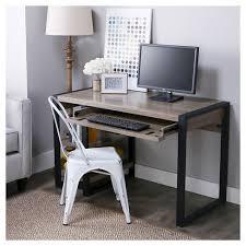 48 Computer Desk 48 Rustic Tech Desk Saracina Home Target