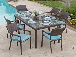 brilliant resin patio dining set resin wicker patio dining set