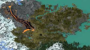 Fantasy Map Ythanica 5k Fantasy Landscape Minecraft Project