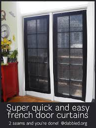 have french doors want a quick covering u0027re do u0027 diy an almost no