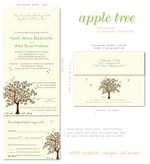 send n sealed wedding invitations on 100 recycled paper apple