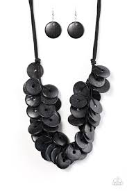 black necklace with images Necklaces paparazzi accessories jewelry jpg