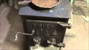 a fisher wood stove mama bear youtube