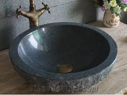 black stone bathroom sink g654 polished stone sinks black granite stone sink vessel sinks