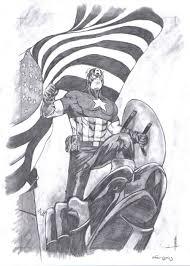 captain america inspired artwork designrfix com