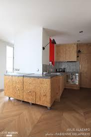 cuisine osb une cuisine aux façades en osb appart plywood