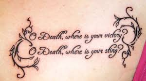 and quotes tattos for