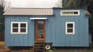 Tiny House 400 Sq Ft Bright Blue Portland Tiny House 200 Sq Ft Tiny House Listing