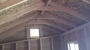 8 x 16 cottage storage shed 2x6 pressure treated fl manufactured