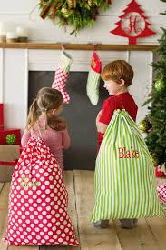 personalized christmas 29 x 20 personalized christmas santa sack in 3 pattern options