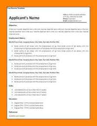 14 word 2007 resume templates job apply form