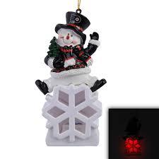 philadelphia flyers snowman led ornament shop nhl