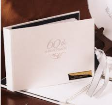 anniversary guest book 25th 50th and any year personalized 60th wedding anniversary