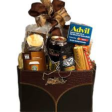 Food Gift Baskets Christmas - survival gift basket stress relief gifts basket bar exam care