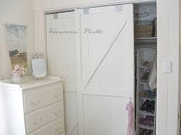 Bedroom Barn Doors by Barn Closet Doors Replacing Bifold Closet Doors With Curtains Our
