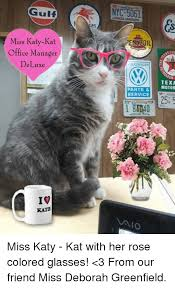 Office Manager Meme - gulf miss katy kat office manager de luxe rate ennlil olkswagen