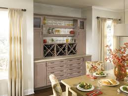 built in wine bar cabinets dining room cabinetry with a built in wine bar china storage and