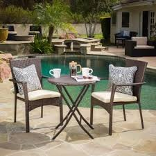 Wicker Bistro Chairs Wicker Outdoor Bistro Sets For Less Overstock