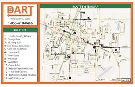 Dart Map Dallas by Desoto County Bocc Department Social Services Dart