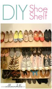 Diy Build Shelves In Closet by Diy Shoe Shelf