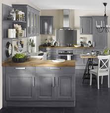 cuisine peinte en gris photos de cuisine repeinte une cuisine de style