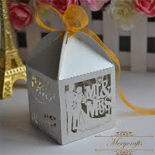 and groom favor boxes and groom laser cut silver beautiful custom favor boxes for