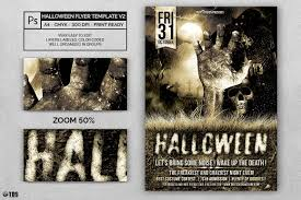 blank halloween flyer background flyer template psd design to customize vol 2