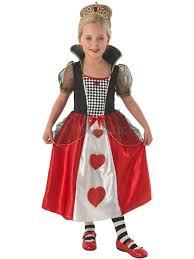 Halloween Costumes Queen Hearts Child Queen Hearts Fancy Dress Costume Princess Alice