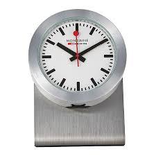 mondaine magnetic desk clock a6603031881sbb clock mondaine