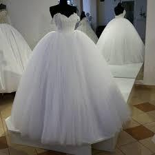 tulle wedding dress shoulder tulle wedding gown dress 2017 robe de