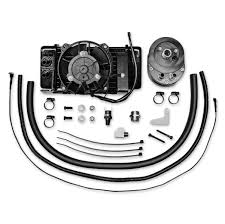 oil cooler fan kit jagg fan assisted oil cooler kits 126 867 j p cycles