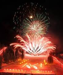 mammoth night of lights fireworks extravaganza at night of lights mammoth mountain ski