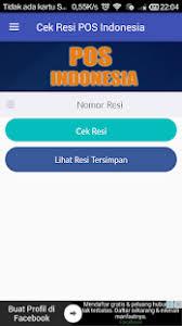 Cek Resi Cek Resi Pos Indonesia Apk