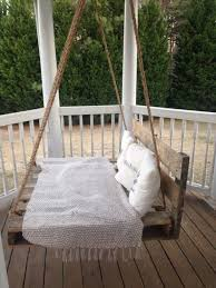 creative swing beds ideas with used pallets recycled pallet ideas