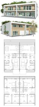 house plans with separate apartment duplex house a house divided into two apartments with a separate