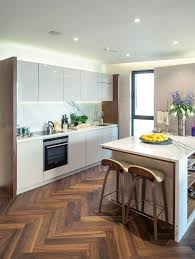 kitchen cabinet ideas with wood floors trending kitchen floor for 2020 wood floors take