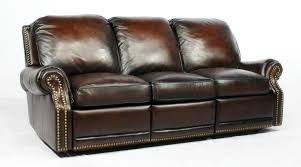 2 Seat Leather Reclining Sofa Premier Ii Power Recliner Sofa By Barcalounger Home Gallery Stores
