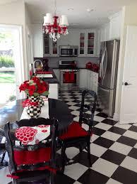 kitchen ideas decoration ideas kitchen design red black and white