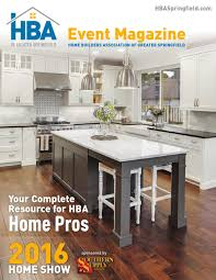 hba home show event magazine 2016 by home builders association
