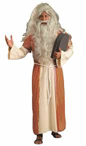 biblical halloween costumes amazon com forum novelties men u0027s biblical times moses costume
