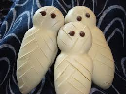 halloween cookies mummies no empty chairs