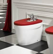 roca bidet low tank bidet bath white with different colored cover