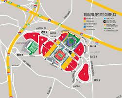 Map Pics Parking U0026 Tailgating Chiefs Com